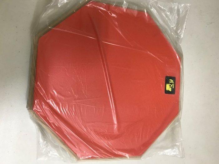 筌曜樂器(F1027)全新 12吋 啞鼓墊 練習鼓 架子鼓 打擊板 爵士鼓 練習墊 超低價