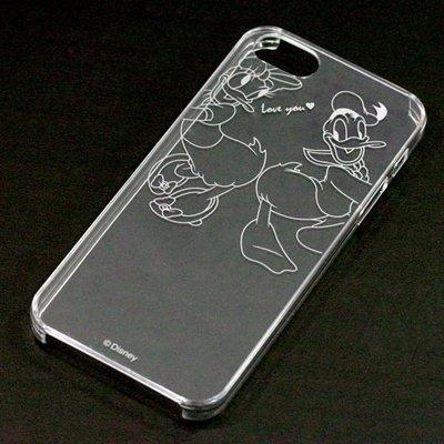 尼德斯Nydus~* 日本正版 Disney 迪士尼 透明系列 手機殼 保護殼 iphone5 5S 唐老鴨 PN-5214