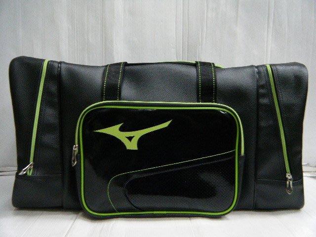 新莊新太陽 MIZUNO 美津濃 1FTD500093 質感 防潑水 輕量 黑X綠 大型 遠征袋 特1900