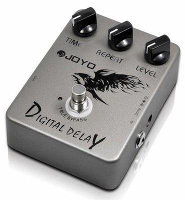 ☆ 唐尼樂器︵☆ Joyo JF-08 Digital Delay 電吉他/電貝斯 Bass 數位延遲單顆效果器