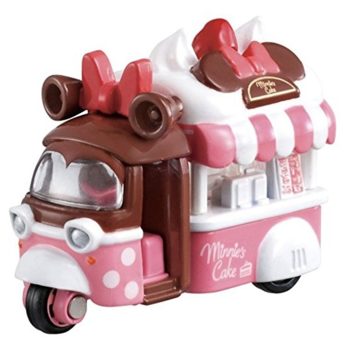 bear   多美 tomica tomy 情人節 巧克力 米妮 機車 餐車 多美小汽車