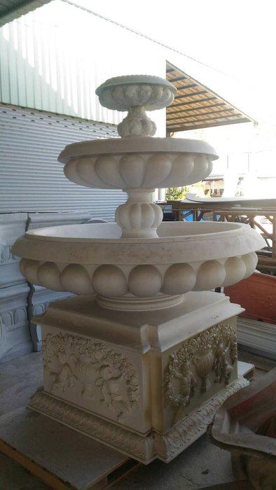 居家藝術 歐洲宮廷藝術精品- PU/ FRP /PE 羅馬柱..女兒牆..雕像..門框.. 浮雕線板..框條.噴水池