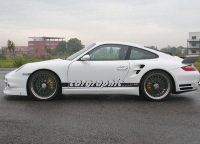 國豐動力 Porsche 997 GT3 GT3RS 3.6 3.8 4.0 CARGRAPHIC 全段賽車排氣管