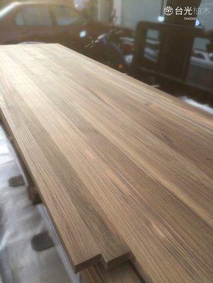 【緬甸柚木-TKWOOD】❤柚木直拼板(厚度2cm)桌板/層板架/家具/集成材/拼板/樓梯板/吧檯/實木