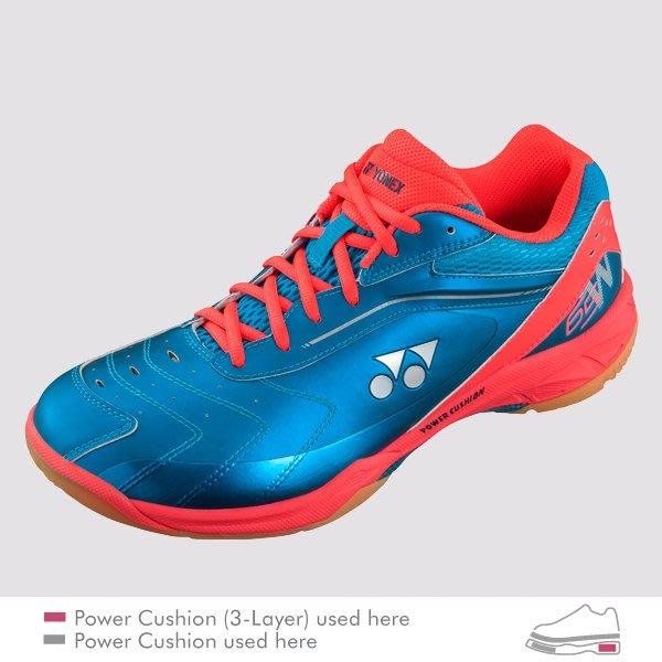 【凱將體育*羽球專業店】YONEX 專業羽球鞋POWER CUSHION 65 WIDE(SHB65WIDE)