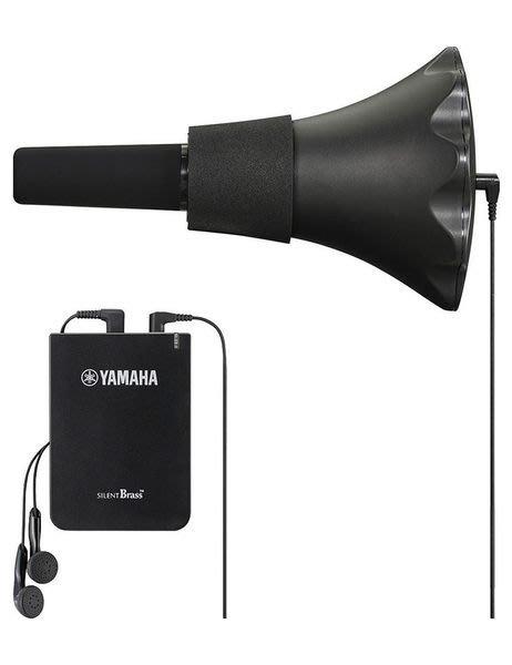 【六絃樂器】全新 Yamaha SB7X Pickup Mute 小號 短號 拾音弱音器組 / 練習可靜音接耳機