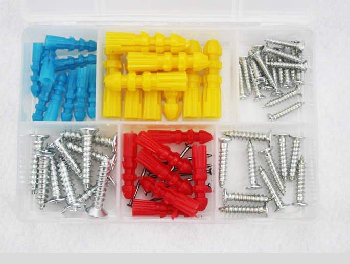塑膠壁虎 螺絲 釘子 塑料 膨脹管 膨脹螺絲 膨脹螺栓 膨脹塞 配自攻釘 緊固工具
