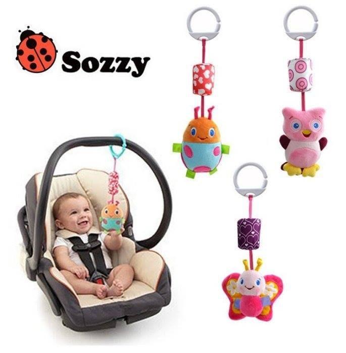 ~Tinny小鋪 烘焙 雜貨 ~立體可愛動物風鈴玩偶 嬰兒車玩具 聲響玩具寶寶用品卡通風鈴
