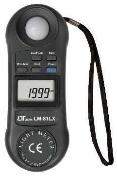 TECPEL 泰菱 》LUTRON 路昌 LM-81LX  掌上型照度計 照度計 LM 81LX+開3聯發票