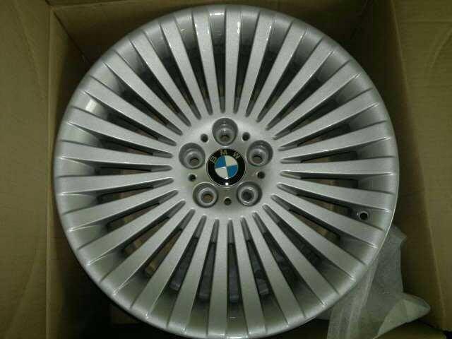 BMW E65,E66,E60,E61,E63,E64原廠19吋鋁圈前後配一組4只