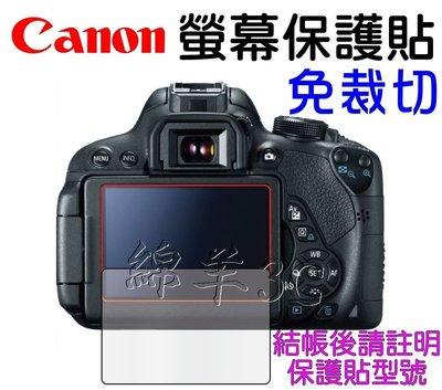 Canon 液晶螢幕保護貼 760D 750D 7D Mark II G1x III SX60HS SX60 保護膜