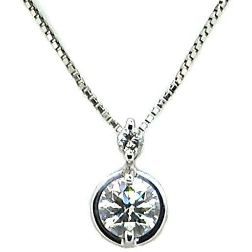 【JHT 金宏總珠寶/GIA鑽石專賣】0.58ct天然鑽石項鍊/材質:PT850/900(JB41-B16)