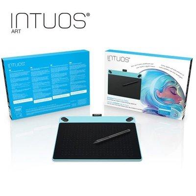 【全新含稅】Wacom Intuos Art 藝術創意觸控繪圖板-時尚藍(中)CTH-690/B0-CX