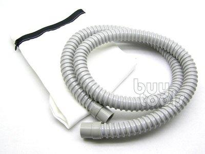 台灣工具-AIR SANDER 自吸式氣動研磨機專用集塵袋+集塵蛇管/集塵棉袋+柔軟蛇管「含稅」
