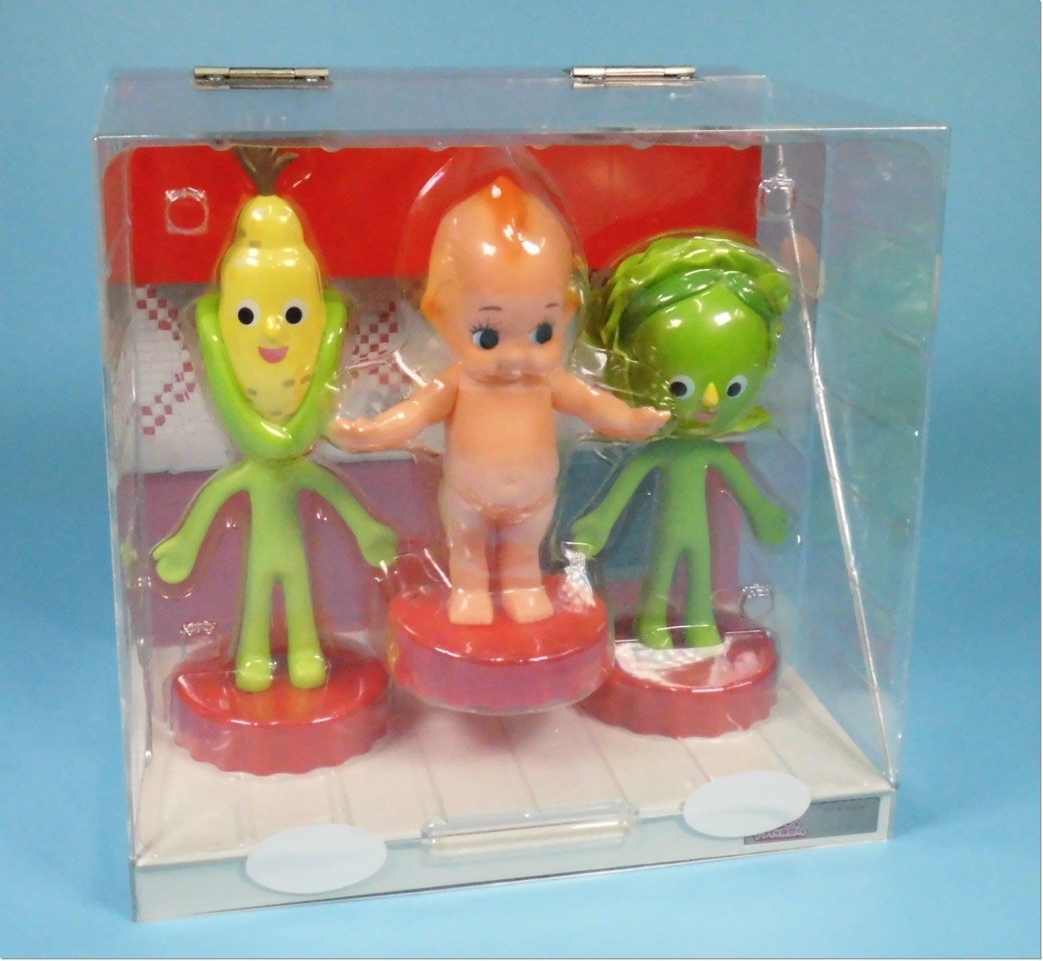 【博雅堂】懷舊  日本  Q比  美乃滋   展示盒娃娃   特別號碼 101  丘比