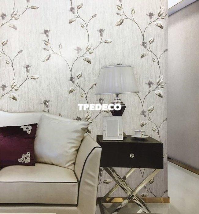 【大台北裝潢】REG義大利進口壁紙* 質感深壓紋 花朵枝葉(4色) 每支2800元