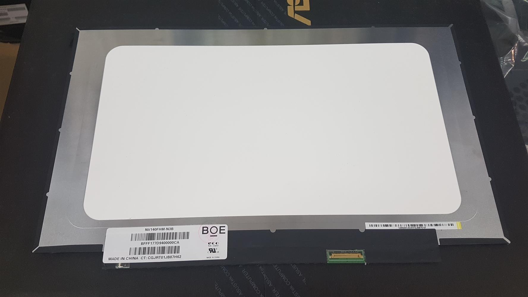NV140FHM-N62 N61 N3B N47 N4C N140HCA-EBA 窄邊框 14.0吋 新款 UX490
