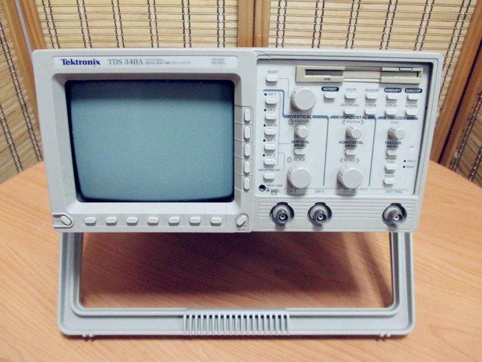 康榮科技二手測試儀器領導廠商Tektronix TDS340A 100MHz,500MS/s,2CH DSO 學生專案