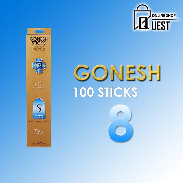 【QUEST】GONESH STICKERS 100 日本 線香 100支 8號 春之薄霧 香氛 空氣清新 精油線香