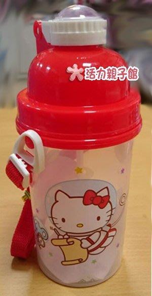 Hello Kitty彈跳水壺500CC~太空版