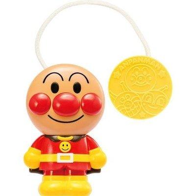 尼德斯Nydus 日本正版 嬰兒用品 麵包超人 外出用 附夾子 可夾娃娃車 發聲玩具