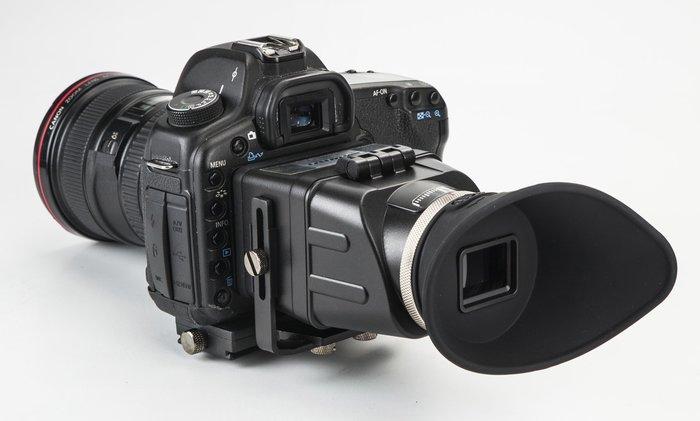呈現攝影-GGS Swivi S3 專業折疊取景器 LCD/液晶放大鏡 遮光檢視鏡 3倍 拍鳥錄影
