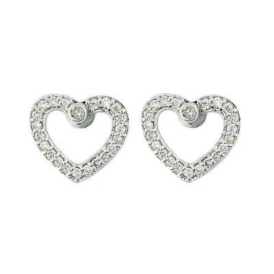 【JHT金宏總珠寶/GIA鑽石專賣】0.50ct天然鑽石耳環/材質:18K(JB41-D15)