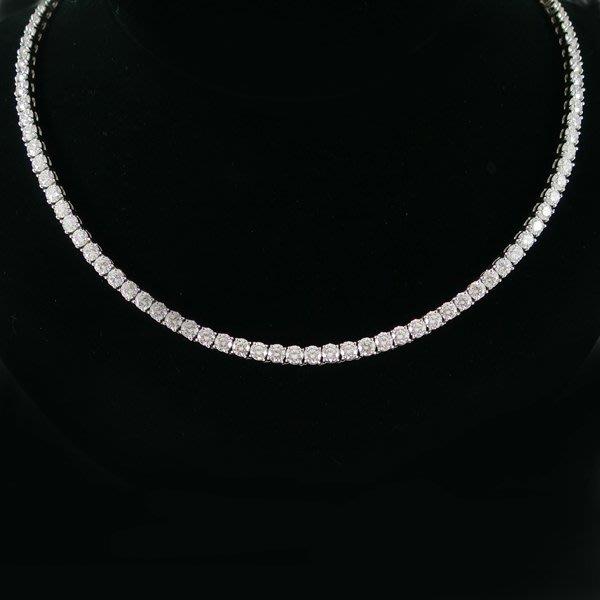 【JHT金宏總珠寶/GIA鑽石專賣】天然鑽石項鍊D:16.63ct/PT900(JB36-A04)