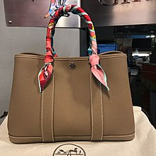 Hermes Garden Party30cm CK18 Etoupe大象灰 接受信用卡分期