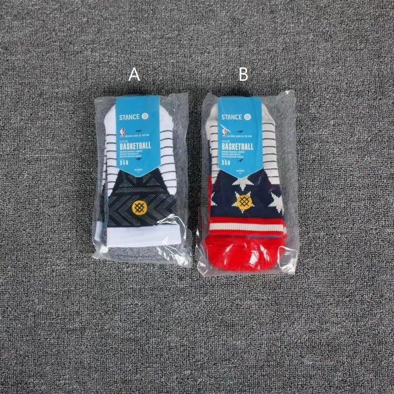 Stance中筒襪黑人月和美國之星 籃球運動襪