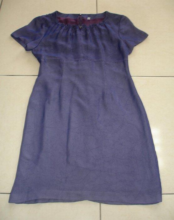 連身裙藍色連身裙--九成新