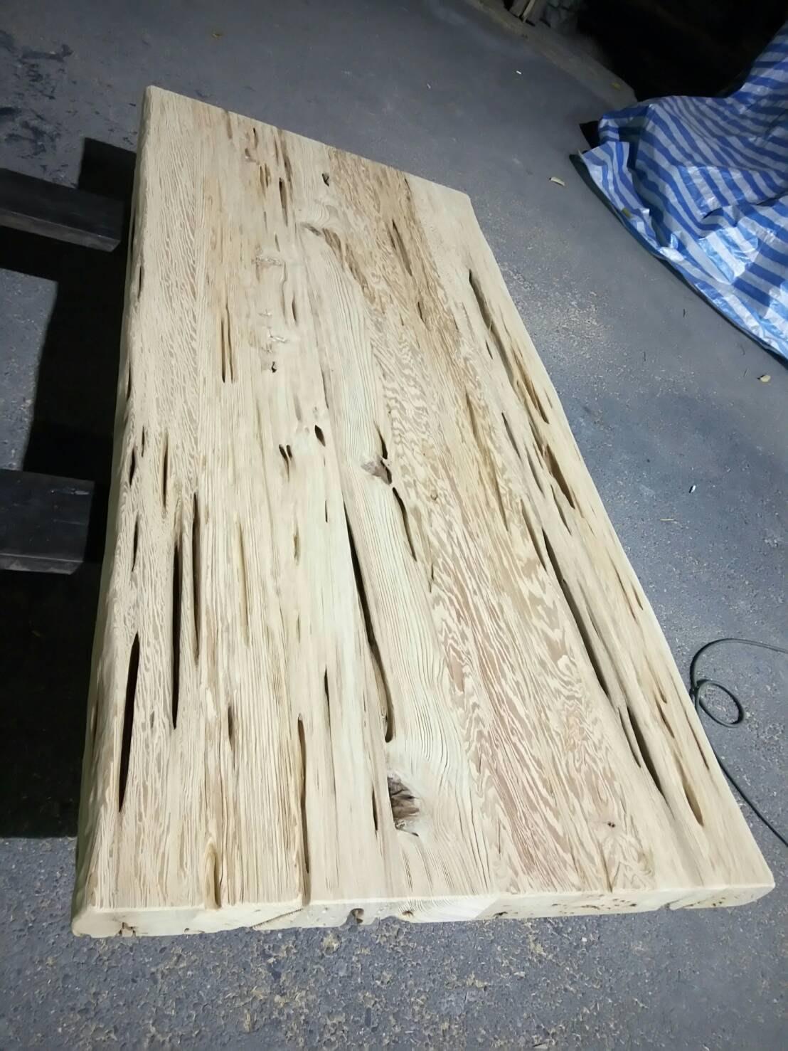 台灣紅檜風化桌板/茶桌/實木書桌/原木桌