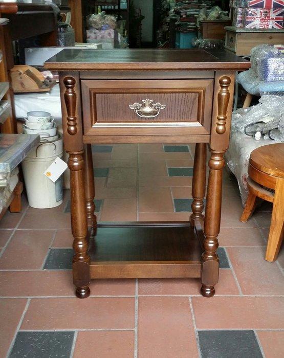 美生活館---全新古典一抽電話桌/花台/床頭櫃