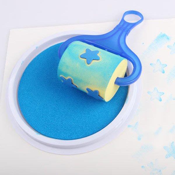 《Jami Honey》【JC3178】兒童大號手指畫水洗印泥 手掌拓印塗鴉彩繪