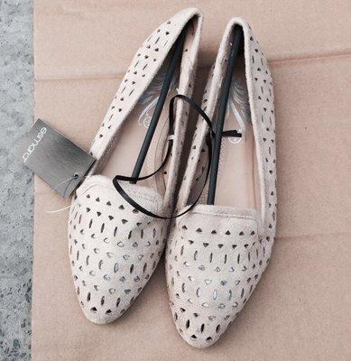 原单。外销法国简约镂空百搭舒适尖头平底便鞋开车鞋通勤鞋-Euphoria Store