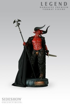 Sideshow Lord of Darkness Sideshow Exclusive 紅魔王綠 網路限定版 大型雕像