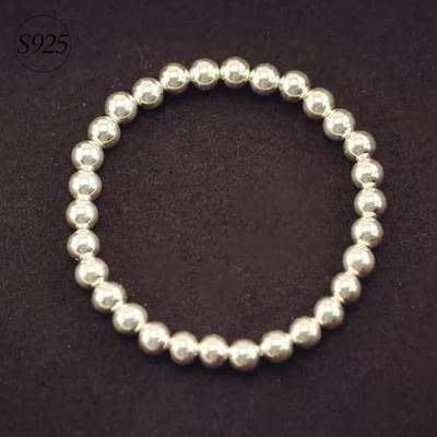 手鍊 925純銀 手環-復古風格珍珠造型情人節禮物女飾品3款73dp97[獨家進口][米蘭精品]