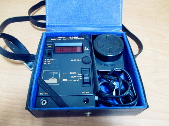 康榮科技二手儀器領導廠商Hioki 3422 Digital Lux Hi Tester
