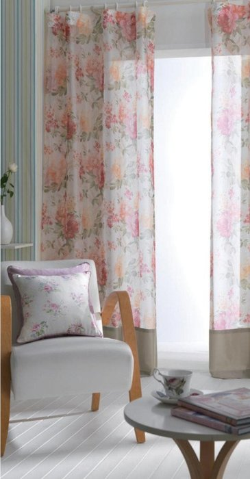台中窗簾~雅式多窗簾布~無接縫窗紗~歐式古典~每呎124~200元 中~台中市免 ~