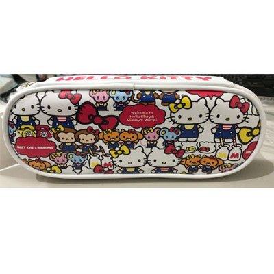 Hello Kitty KT上掀圓筆袋4713791969895