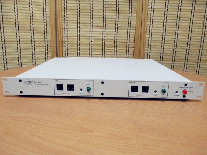 Spirent DLS-5404 (DLS5404) Dual ADSL2++ Noise Injection Unit