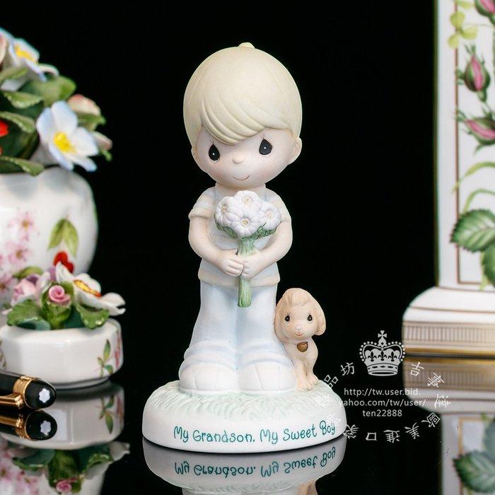 【吉事達】美國Precious Moments 水滴娃娃瓷偶2009年獻上我的祝福 生日禮品精美擺飾