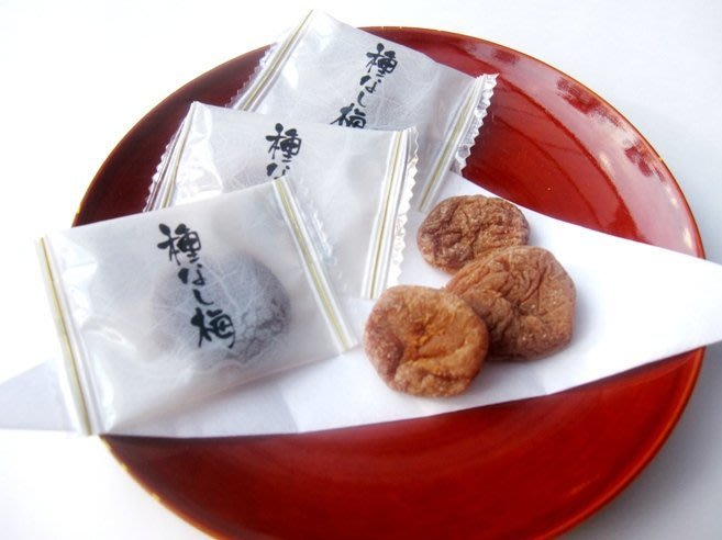 梅干--日本原裝無籽梅干/日本梅乾/無籽梅肉/種なし干し梅270g大包裝--秘密花園