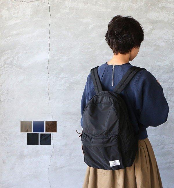 乾媽店~ SOLEIL RUCK  黑色 後背包 可摺曡 附收納袋 HEMING #x27