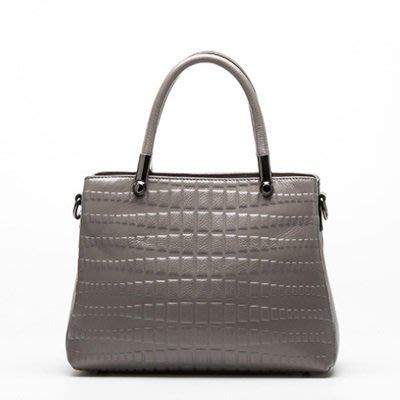 手提 包 真皮 肩背 包-歐美輕奢優雅時尚女包包2色73se30[獨家進口][米蘭精品]