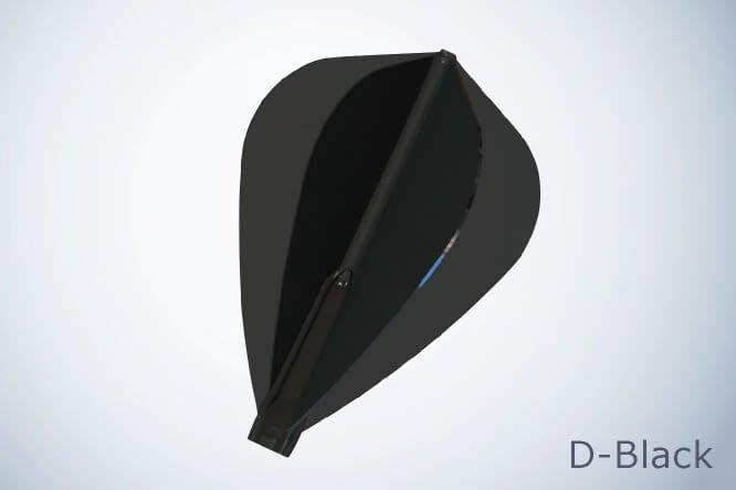 新莊新太陽 Fit Flight AIR 【 Kite 】素色 尾翼 鏢翼 淺黑 深黑 2色 特180/3入