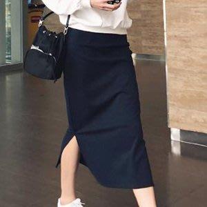 Ava正韓 側開顯瘦百搭長裙子 韓國連線  4色 [預購]I712806-0328