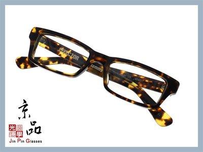京品眼鏡 EFFECTOR 伊菲特 whammy BA 經典玳瑁色  厚板醋酸纖維 日本 手工 光學眼鏡 JPG