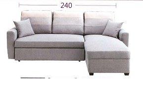 【人家人具】沙發整組(二人位+貴妃椅)JC528-5