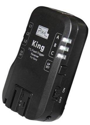 呈現攝影-品色 King S 無線閃燈觸發器 Sony用 TTL 1/8000秒 喚醒 分組 相機選單 離閃王 單接收x1
